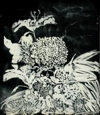 'Untitled Vlll' ink on paper, 19 by 15 inches, 2010 (sold)