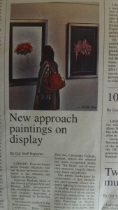 New approach to paintings on display