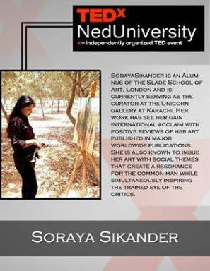 soraya sikander ted talk on conditioning and context