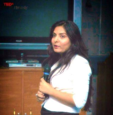 tedx with artist soraya sikander at ned university