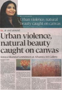 Tribune 'Urban violence, natural beauty, caught on canvas' an unprecedented art event