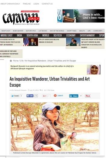 Soraya Sikander's art enjoys critical acclaim