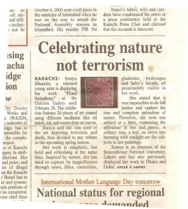 celebrating nature review in daily times