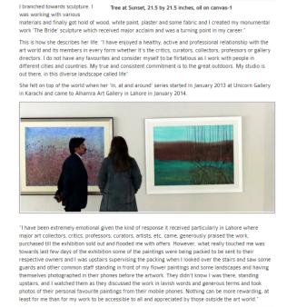 Soraya Sikander's work engages the viewer/visual monlogue pg4