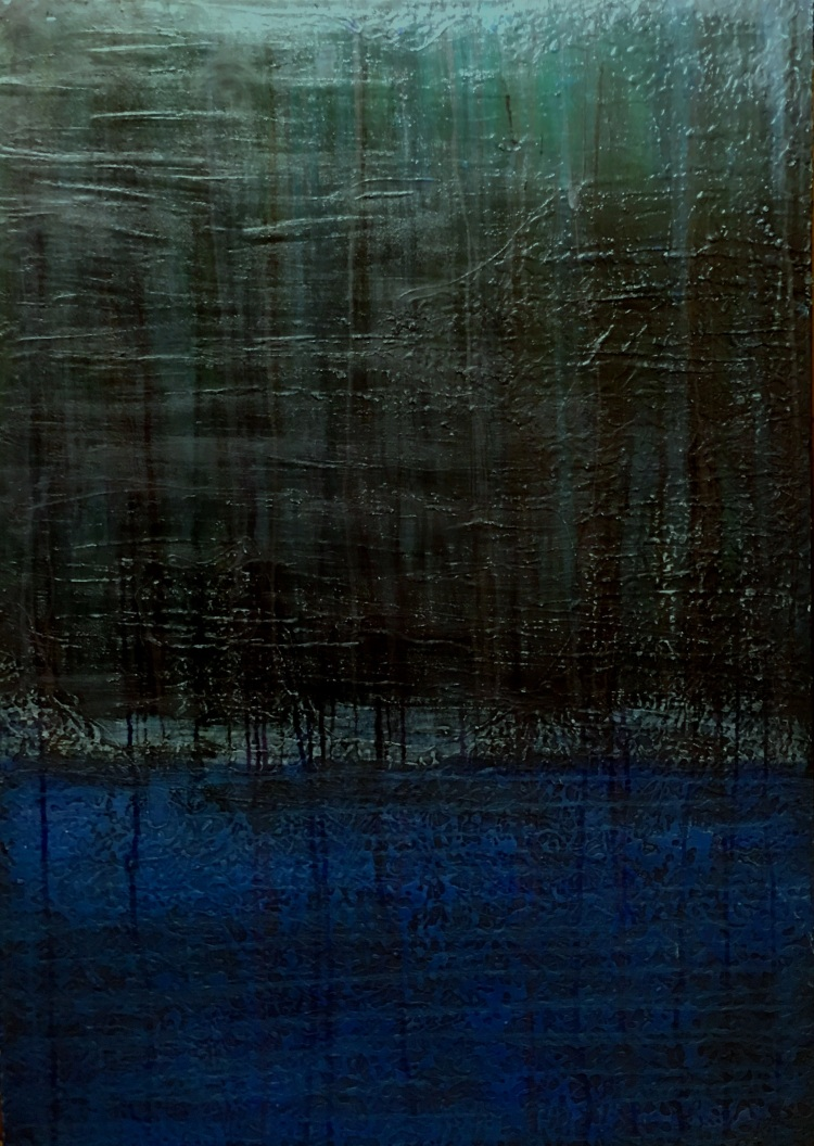 Mangroves 30 by 42 inches, oil on canvas